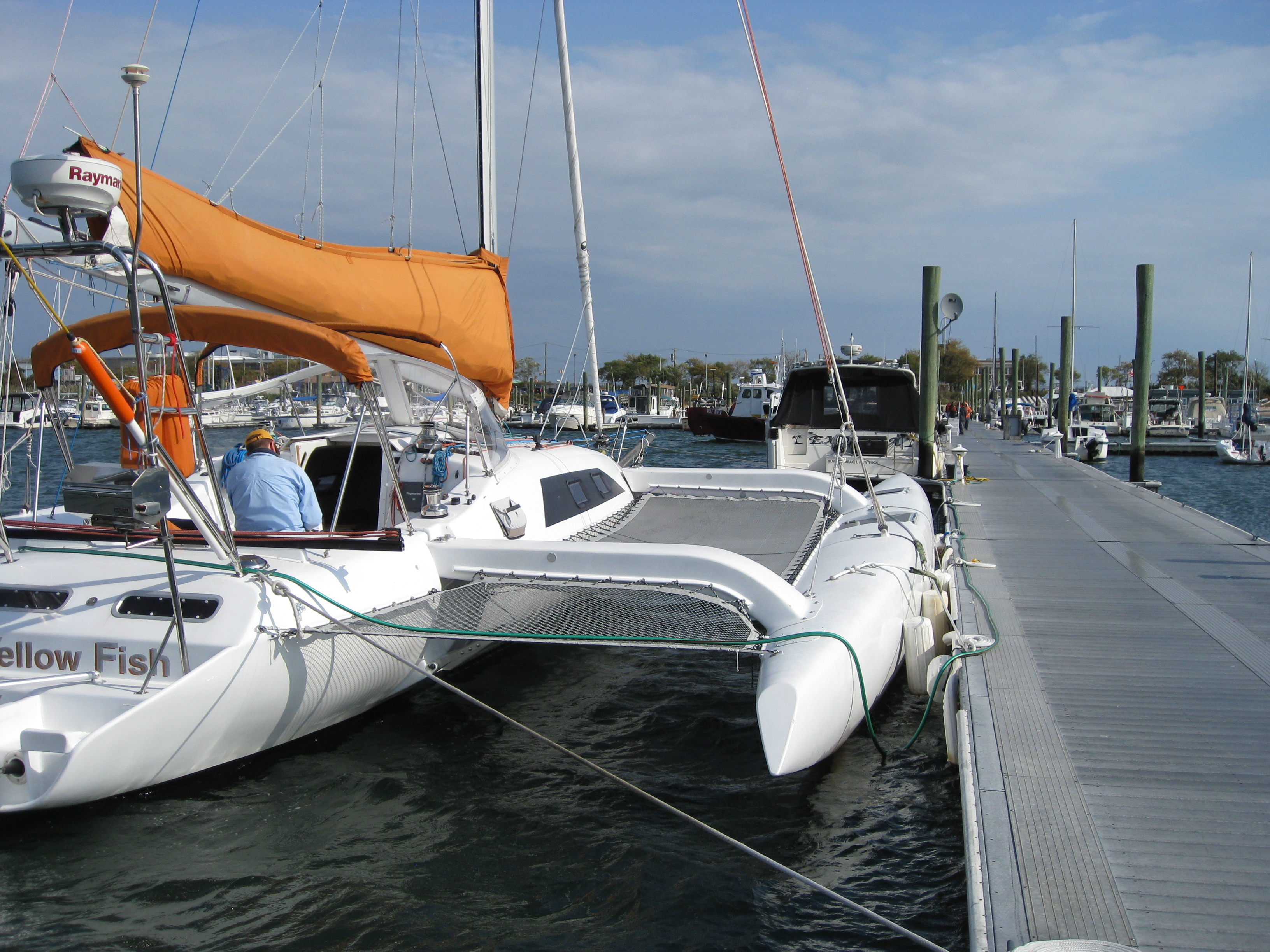 Examples of finished boats | F36 #005 Ravenswing - Trimaran